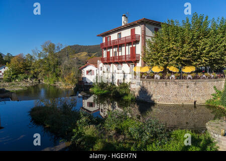 Saint jean pied de port 64 stock photo 29670734 alamy - Hotels in saint jean pied de port france ...