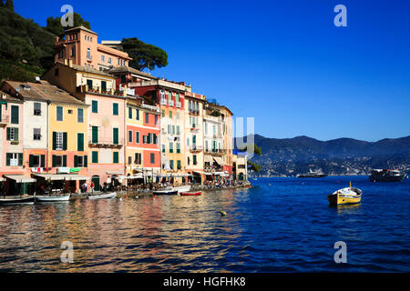 Portofino, Genova, Liguria, Italy - Stock Photo