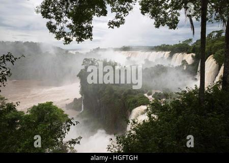 Iguazu Falls, Iguazu National Park, Misiones Province, The Northeast, Argentina, South America