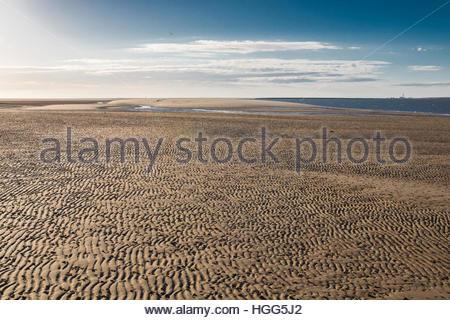wangerooge east, wangerooge, friesland district, lower saxony, north sea, germany, june 2016 - Stock Photo