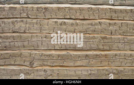 A wooden wall or floor abstract background of wood planks. - Stock Photo