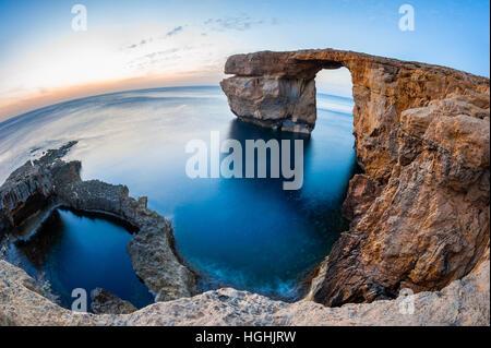 Azure Window Malta - Stock Photo