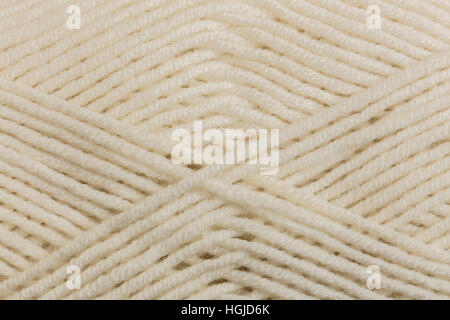 Knitting yarn skein texture, close up - Stock Photo