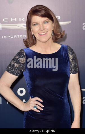 Beverly Hills, California, USA. 8th Jan, 2017. Kate Flannery attends the NBC Universal's 74th Annual Golden Globes - Stock Photo