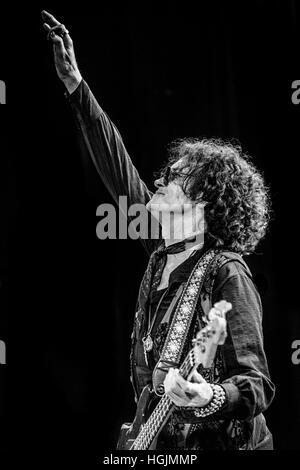 London, UK. 21st January, 2017. Glenn Hughes live at Islington Assembly Hall, London, UK.  Laurence Harvey/ Alamy - Stock Photo