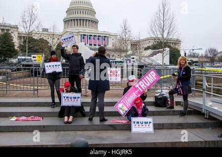 Washington, DC, USA. 21st Jan, 2017. Women's march in Washington, D.C. Credit: Darryl Smith/Alamy Live News - Stock Photo