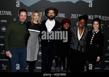 Park City, UT, USA. 22nd Jan, 2017. at arrivals for LEMON Premiere at Sundance Film Festival 2017, The Library Theater, - Stock Photo