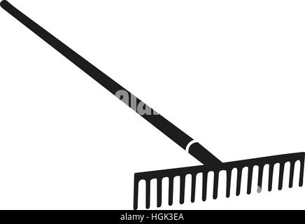 Rake agriculture - Stock Photo