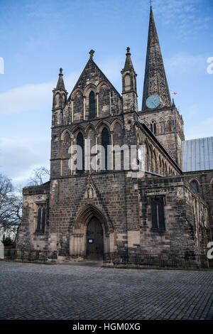 St. Cuthberts church in Darlington in north east England,UK - Stock Photo
