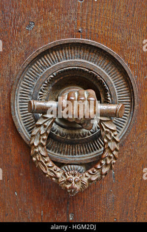 Old door bell pull in Pienza Stock Photo, Royalty Free Image ...