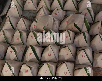 Malaysian Street food - Rice Dishes - Stock Photo