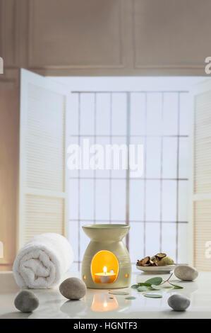 AROMATHERAPY - Stock Photo