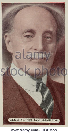 Sir Ian Hamilton, General in the British Army - Stock Photo