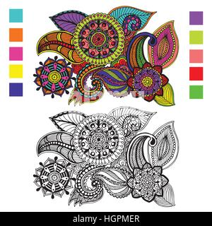Page For Coloring Book Very Interesting And Relaxing Job
