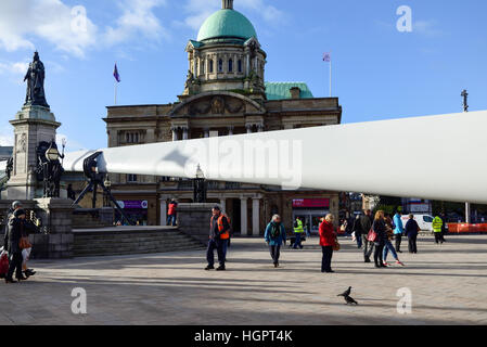 Hull city of Culture 2017,The Blade Sculpture . - Stock Photo
