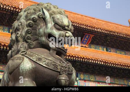 Chinese Lion in Forbidden