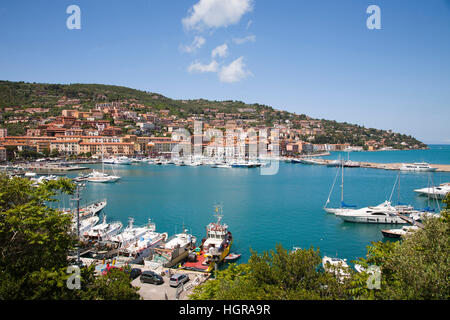 Porto Santo Stefano, Argentario, Tuscany, Italy, Europe - Stock Photo