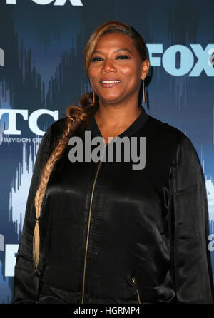 Pasadena, USA. 11th Jan, 2017. Queen Latifah, at 2017 Winter TCA Tour - FOX All-Star Party, at Langham Hotel In - Stock Photo