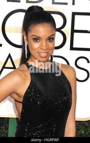 Susan Kelechi Watson at arrivals for 74th Annual Golden Globe Awards 2017 - Arrivals 3, The Beverly Hilton Hotel, - Stock Photo