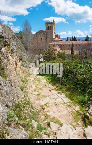 Segovia - The monastery Monasterio de Santa Maria del Parral - Stock Photo