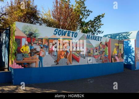 Soweto market, Windhoek, Namibia, Windhuk - Stock Photo