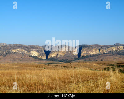 Scenery, Landscape, Parc National De L'Isalo, Madagascar - Stock Photo