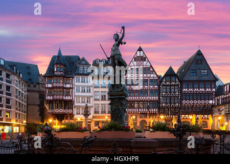 Frankfurt german old city square stock photo royalty for Liebfrauenberg frankfurt