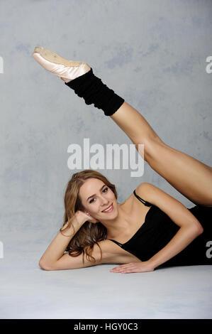 dancer, beauty, body, young, art, ballerina, ballet, beautiful, caucasian, classical, color, cute, dance, dancer, - Stock Photo