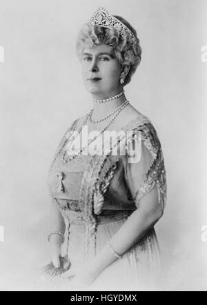 Queen Mary, Consort of King George V, of United Kingdom, Portrait, Bain News Service, 1921 - Stock Photo