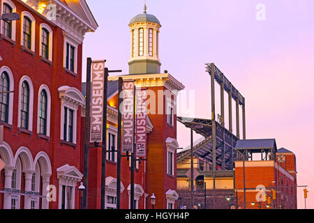 The Sports Legends Museum at Camden Yards in Baltimore, USA - Stock Photo
