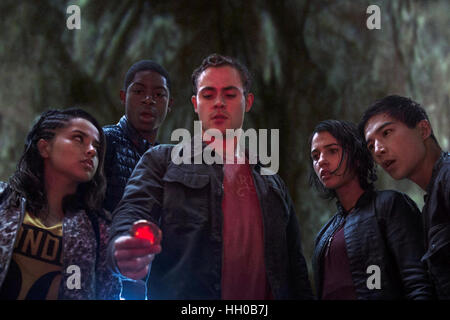 Power Rangers (announced as Saban's Power Rangers) is an upcoming 2017 American superhero film directed by Dean - Stock Photo