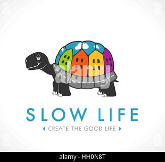 Slow life and city concept - Stock Photo