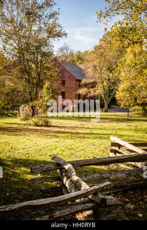 Colvin Run Mill, 10017 Colvin Run Road, Great Falls, Virginia - Stock Photo