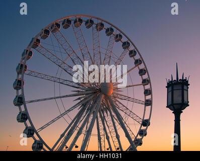 The Brighton Wheel in Brighton, East Sussex, England - Stock Photo