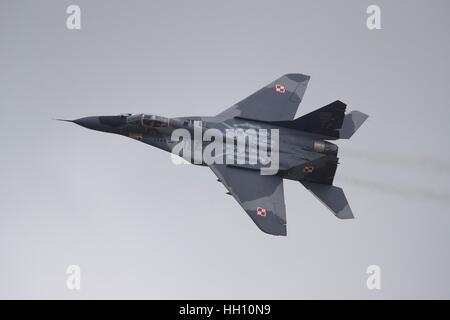 Polish Air Force MiG-29 - Stock Photo