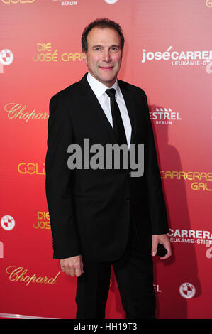 Jose Carreras Gala - Arrivals at Estrel Hotel.  Featuring: Alexander Hold Where: Berlin, Germany When: 14 Dec 2016 - Stock Photo