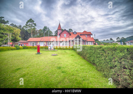 Sri Lanka, Nuwara Eliya: colonial British post office - Stock Photo