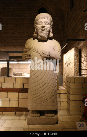 Sculpture in Museum of Anatolian Civilizations, Ankara, Turkey - Stock Photo