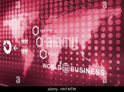 abstract business digital background Stock Photo