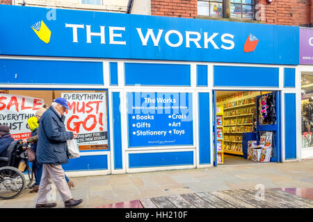 The The Works Barrow in Furness - Stock Photo