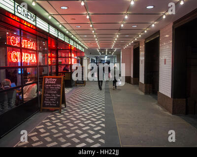Picture House cinema on the corner of Shaftesbury Avenue and Great Windmill Street, Piccadilly - Stock Photo