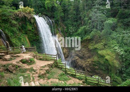 Pulhapanzak waterfall in Honduras - Stock Photo
