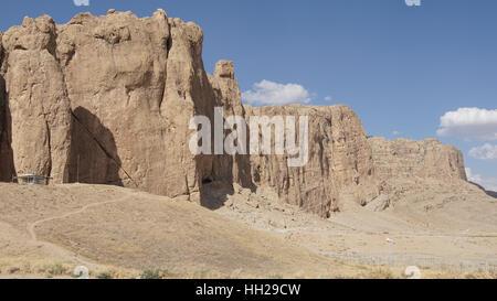 Landscape around Naqsh-e Rostam, Iran, Asia - Stock Photo