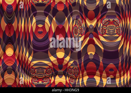 abstract funky background pattern - Stock Photo