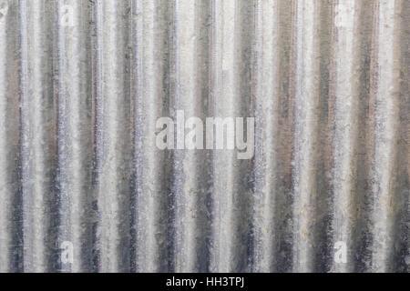 galvanised iron background texture - Stock Photo