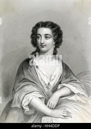 MARIE-ANNE de la TREMOILLE,  princesse des URSINS (1642-1722) wife (1) of prince de Chalais,  (2) duc de Bracciano, - Stock Photo