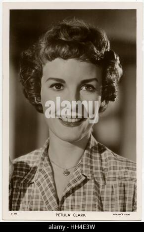 Petula Clark, English singer and film actress - Stock Photo