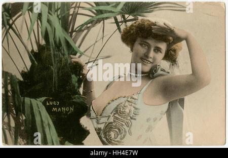 Lucy Manon  Actress - Stock Photo