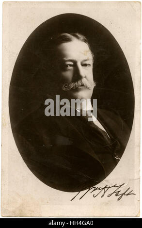 William Howard Taft (1857–1930) - 27th President of the United States of America. - Stock Photo