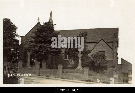 St Michael and All Angels Church, Bartley Green, Birmingham, West Midlands. - Stock Photo